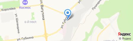 Автотехник на карте Белгорода