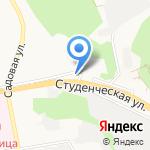 Аристократ на карте Белгорода