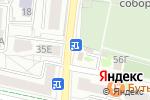 Схема проезда до компании Цветы на Островского в Белгороде