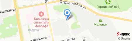 Храм-часовня во имя святых мучеников Флора и Лавра на карте Белгорода