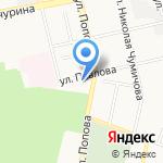 Белгородская государственная универсальная научная библиотека на карте Белгорода
