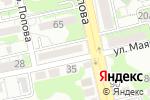 Схема проезда до компании Адвокатское бюро №1 в Белгороде