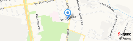 БГУНБ на карте Белгорода