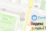 Схема проезда до компании ПромПолимерСервис в Белгороде