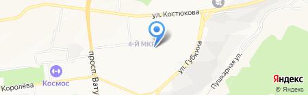 Лицей №38 на карте Белгорода