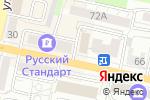 Схема проезда до компании Ваш Шанс в Белгороде