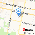 Сбербанк Лизинг на карте Белгорода