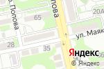 Схема проезда до компании Почтовое отделение №14 в Белгороде