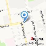 Юля на карте Белгорода