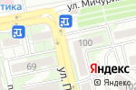 Схема проезда до компании Романтика в Белгороде