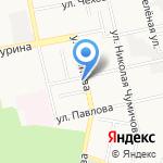 Котенок на карте Белгорода