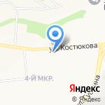 ГРАНИКС на карте Белгорода