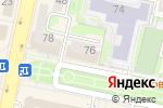 Схема проезда до компании Amadeus в Белгороде