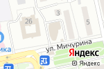 Схема проезда до компании Магнит Косметик в Белгороде