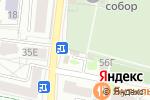 Схема проезда до компании Кристалл-гранит в Белгороде