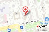 Схема проезда до компании GROSS в Белгороде