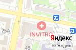 Схема проезда до компании Инвитро в Белгороде