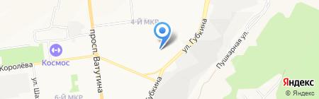 Стройбелго на карте Белгорода