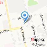 Адвокатский кабинет Клоповская Е.И. на карте Белгорода