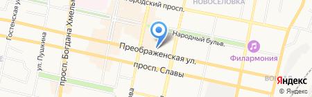 Жилищный центр на карте Белгорода