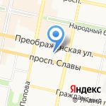 Мир Белогорья на карте Белгорода