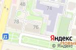 Схема проезда до компании НОРА в Белгороде