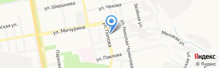 Салон-парикмахерская на карте Белгорода