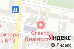 Схема проезда до компании Белбумснаб в Белгороде