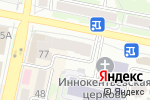 Схема проезда до компании Парусник-Белгород в Белгороде