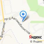 Прогресс-М на карте Белгорода