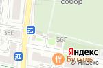 Схема проезда до компании Ритуал Белогорье в Белгороде