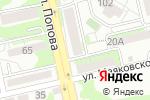 Схема проезда до компании Жилищный фонд в Белгороде