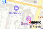 Схема проезда до компании Адвокат Корнев Е.И. в Белгороде