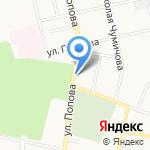 Парк на карте Белгорода