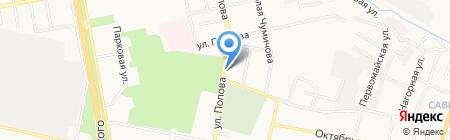 Белстройпроект на карте Белгорода