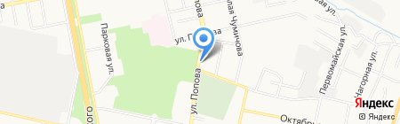 Мир безопасности на карте Белгорода