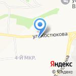 Браво на карте Белгорода