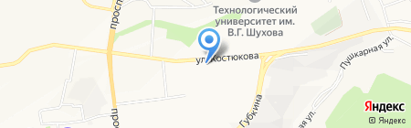 Пивная бочка на карте Белгорода