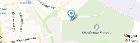 Храм Корсунской иконы Божией Матери на карте Белгорода