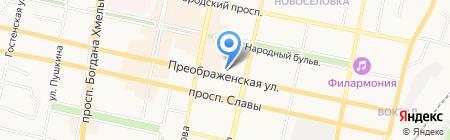 Сеть салонов оптики на карте Белгорода