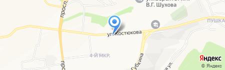 Цыплятя гриль на карте Белгорода