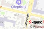 Схема проезда до компании Tervolina в Белгороде