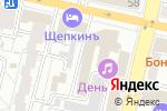 Схема проезда до компании КОМПонент в Белгороде