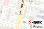 Схема проезда до компании Шалунья в Белгороде
