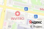 Схема проезда до компании ЭкоФормат в Белгороде