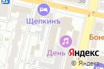 Схема проезда до компании ЛитКараВан в Белгороде