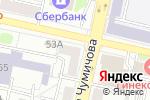 Схема проезда до компании Адвокатский кабинет Бариновой Т.Н. в Белгороде