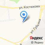 Эдем на карте Белгорода