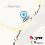 Казачок на карте Белгорода