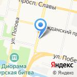 Шалунья на карте Белгорода